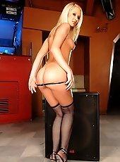 Very sexy disc jockey Kittie will turn you up too